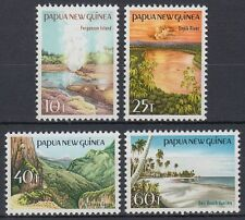 Papua-Neuguinea 1985 ** Mi.487/90 Landschaften Landscapes [sq6023]