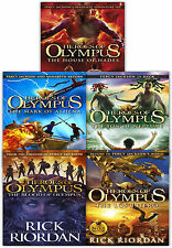 Heroes of Olympus Collection 5 Books Set Pack Rick Riordan The House of Hades