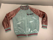 LOL Dolls Surprise Glitterati Reversible Jacket Girls Size 6 Pink Satin Sparkle
