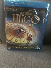 HUGO 3D & 2D BLURAY Sealed  (MARTIN SCORSESE) FREE UK POST