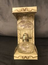 UNUSED Vintage Lamplight Farms Oil/Paraffin Lamp No.212/234. Hobnail Glass BOXED