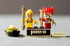 Kre-O Cityville Invasion Series 2 Mini-Figure Population Bonkazonks Mr. Muscle