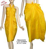 100/% Cotton Tie Dye Beach Scarf Sarong Pareo Wrap Bikini Swimwear Cover Up 4507