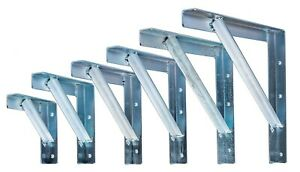 Chimney support gallows brackets, 50x50x5 steel, Pair (two brackets) All sizes