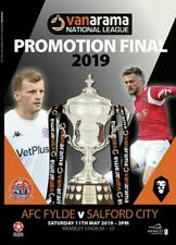 NATIONAL LEAGUE PLAY OFF FINAL 2019 Salford City v AFC Fylde