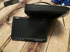 """Pyle PLRD92 9"""" Flip-Down Vehicle Monitor with DVD Player audio syste (GAL089770)"""