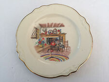 """Homer Laughlin China COLONIAL KITCHEN Virginia Rose - 6-1/8"""" BREAD PLATE"""