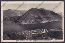 BRESCIA SULZANO 04 PESCHIERA MARAGLIO - LAGO d'ISEO Cartolina VIAGGIATA 1944