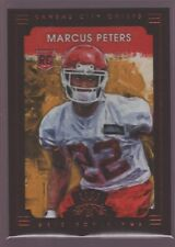 MARCUS PETERS CHIEFS FRAMED ROOKIE SKETCH ART RC SP 2015 PANINI GRIDIRON KINGS