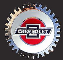Vintage Looking Chevy Chevrolet Owner Car Grille Badge NEW Great Gift!