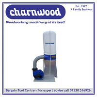 CHARNWOOD W691CF 2HP Single Bag Dust Extractor with Cartridge Filter Package