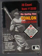 Baseball  SPORTING NEWS CONLON COLLECITON 36 packs 1991