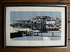 PORT OF NAPLES - CASTEL NUOVO ?  - 604/1000 SILKSCREEN/SERIGRAPH - SIGNED - 1974