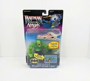 Kenner 1998 Batman Knight Force Ninjas Series TAILWHIP KILLER CROC