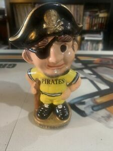 1973 Pittsburgh Pirates Taiwan Bobblehead Nodder - MINT