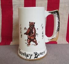 Vintage 1968 Hershey Bears Hockey Team Mug Hand Painted By Brown Ceramics Nice!