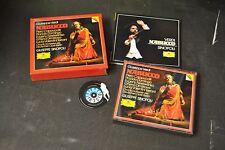 box 2 cd Verdi Cappuccilli Domingo Nesterenko Dimitrova Sinopoli Nabucco