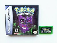 Pokemon Hollow Mysteries Game / Case Gameboy Advance GBA Fan Made Mod (USA)