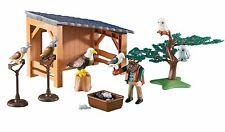 Playmobil cetrería Set Eagle Búhos Halcones Aves de presa 6471 conjunto de país