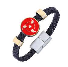 New Anime Naruto Sharingan Bracelet Cosplay Wristband Gift