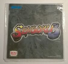 SENGOKU 3 - Neo Geo AES - USA / ENGLISH - MANUAL ONLY (ORIGINAL)