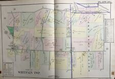 1916 Montgomery Co., North Pa, Whitpain, White Marsh Reproduction Plat Atlas Map
