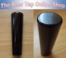 """Bière robinet robinet poignée. Fil: 3/8"""" - 16 UNC. Matériel: Plastique. Finition: noir."""