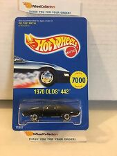 1970 Olds 442 w/ Real Riders 11897 * Seattle Toy Fair * Hot Wheels * M2
