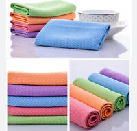 1/5Pcs Multi-function Quick Dry Hair Towel Washing Dishcloth Cloth Tea Towel