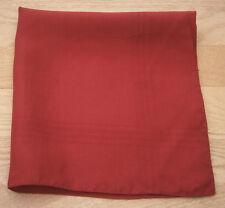 Macclesfield soie rouge Mouchoir Mouchoir De Poche Carré Fête De Mariage
