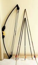 (Preowned) Barnett LiL Banshee Archery Youth Compound Bow with 5 Arrows.