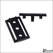 Safety Razor Replacement Head Maggard Razors Black V3 Closed Comb