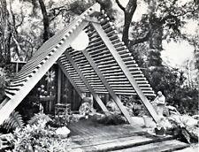 Build Mid Century Modern Outdoor Furniture Patio Roof Gazebo Fence Walls Planter