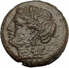 Carthage in Zeugitana 400BC Tanit Cult & Horse  Rare Ancient Greek Coin  i50872