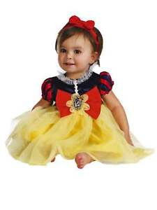 Disney Snow White Deluxe Infant Costume Princess Dress Baby Girl 12-18 Months