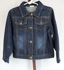 Wrangler Toddler Girls Blue Denim Jean Jacket Size 4T