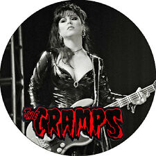 IMAN/MAGNET THE CRAMPS Candy Del Mar . pin lux interior poison ivy psychobilly