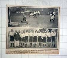 1912 England Beat Ireland And Maintains Hockey Supremacy Beckenham