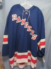 New York Rangers NHL KOHO jersey NWT Sewn logos sz JUMBO Big Man made in Canada