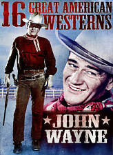 16 Great American Westerns: John Wayne (DVD) 3-Disc Set BRAND NEW!