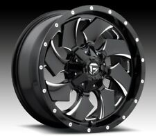 Fuel Cleaver D574 20x9 8x170 ET20 Black Rims (Set of 4)