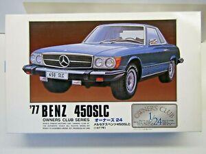 "ARII 1:24 Scale ""Owners Club"" 1977 Mercedes-Benz 450SLC Model Kit - New - #11153"