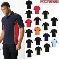 Gamegear Casual Track Polo Shirt (KK475) - Short Sleeves Collar T-shirt