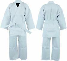 White Kid Karate Suit Karate Uniform Kids Adult Tkd Gi Martial Arts