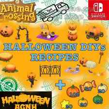 ✨ALL 14 halloween DIYs recipes✨Animal Crossing New Horizons Fast Delivery🚚