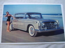 1957 RAMBLER  REBEL  IN COLOR !! 11 X 17  PHOTO  PICTURE