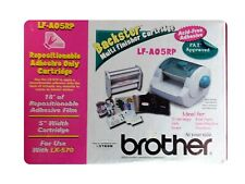 """New listing Brother Repositionable Adhesive Only Cartridge- Lf-Ao5Rp-5"""" Width"""