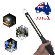 LED COB Rechargeable Slim Outdoor Work Light Lamp Inspection Flashlight Hooks AU