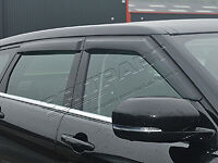 RANGE ROVER EVOQUE 5 PORTE Deflettori Vento Set Di 4 da6094