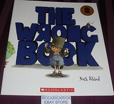 THE WRONG BOOK -NICK BLAND- (2012) LARGE BOOK (BRAND NEW)